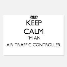 Keep calm I'm an Air Traf Postcards (Package of 8)