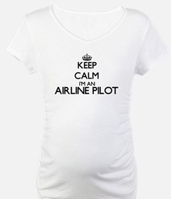 Keep calm I'm an Airline Pilot Shirt