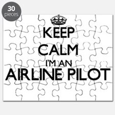 Keep calm I'm an Airline Pilot Puzzle