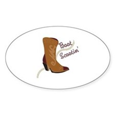 Boot Scootin Decal