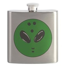 Alien Bowling Ball Flask