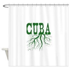 Cuba Roots Shower Curtain