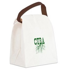 Cuba Roots Canvas Lunch Bag