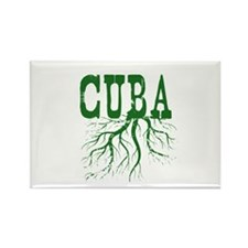 Cuba Roots Rectangle Magnet (10 pack)