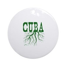 Cuba Roots Ornament (Round)