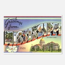 Greetings from Mississippi Postcards (Package of 8