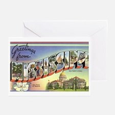 Greetings from Mississippi Greeting Cards (Package