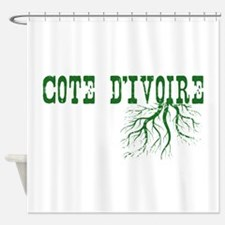 Côte d'Ivoire Shower Curtain
