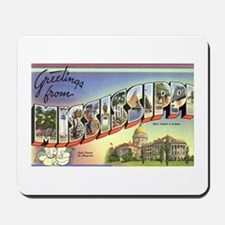 Greetings from Mississippi Mousepad
