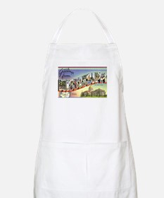 Greetings from Mississippi BBQ Apron
