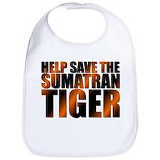 Funny Save tiger Bib