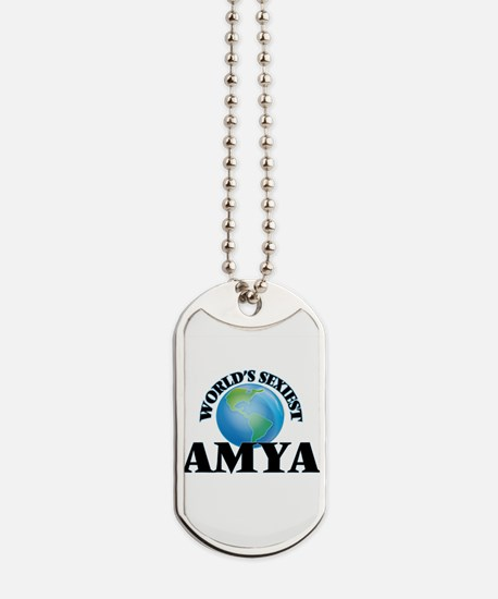 World's Sexiest Amya Dog Tags