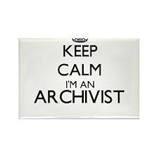 Keep calm I'm an Archivist Magnets