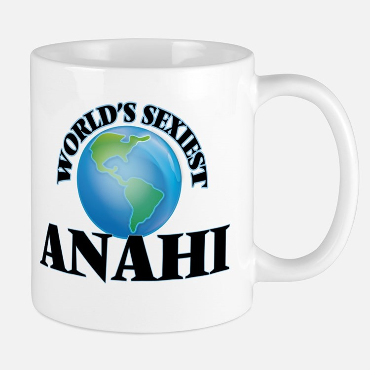 World's Sexiest Anahi Mugs