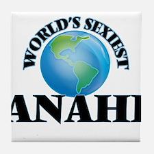 World's Sexiest Anahi Tile Coaster
