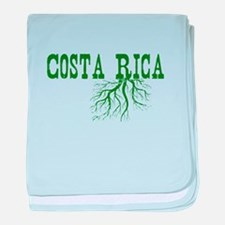 Costa Rica Roots baby blanket