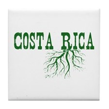 Costa Rica Roots Tile Coaster