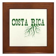 Costa Rica Roots Framed Tile
