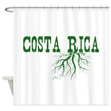 Costa Rica Roots Shower Curtain