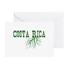 Costa Rica Roots Greeting Card