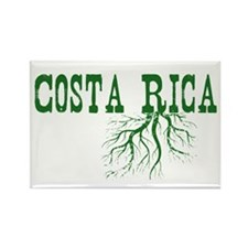 Costa Rica Roots Rectangle Magnet (100 pack)
