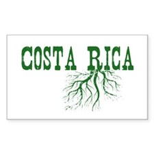 Costa Rica Roots Decal
