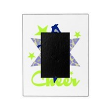 Blue and Green Cheerleader Picture Frame