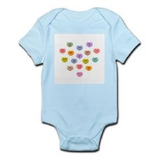 Candy Hearts Infant Bodysuit