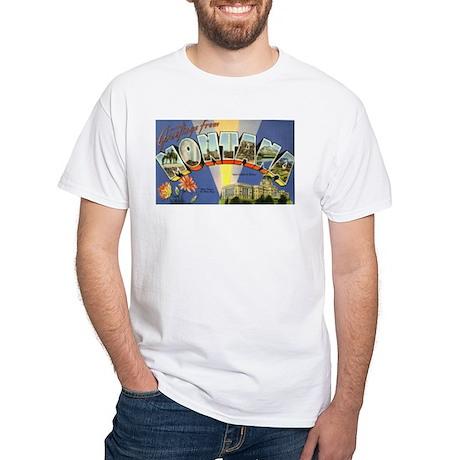 Greetings from Montana White T-Shirt