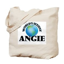 World's Sexiest Angie Tote Bag