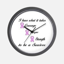 I have what it takes Wall Clock