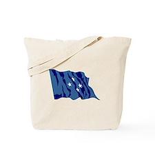 Micronesia Flag Tote Bag