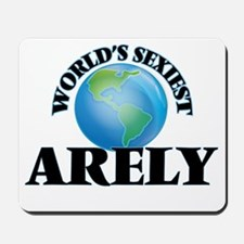 World's Sexiest Arely Mousepad