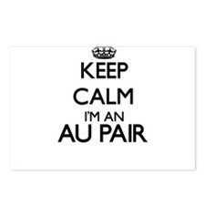 Keep calm I'm an Au Pair Postcards (Package of 8)