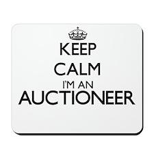 Keep calm I'm an Auctioneer Mousepad
