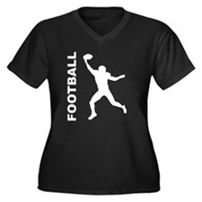 Football Wide Receiver Plus Size T-Shirt