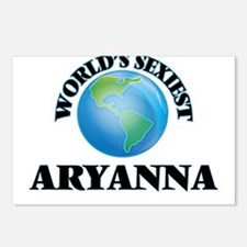 World's Sexiest Aryanna Postcards (Package of 8)