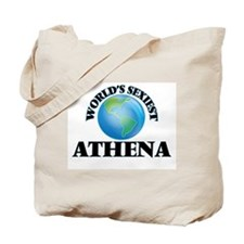World's Sexiest Athena Tote Bag