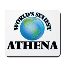 World's Sexiest Athena Mousepad