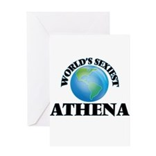 World's Sexiest Athena Greeting Cards