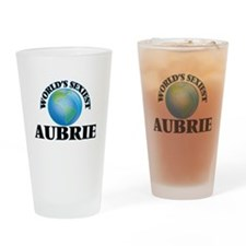 World's Sexiest Aubrie Drinking Glass