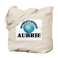 World's Sexiest Aubrie Tote Bag