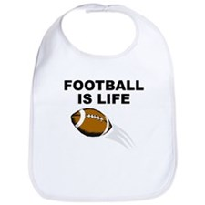 Football Is Life Bib