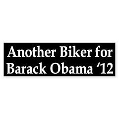Bikers for Barack Obama '12 Bumper Bumper Sticker