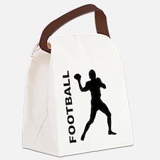 Football Quarterback Canvas Lunch Bag