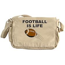 Football Is Life Messenger Bag