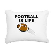 Football Is Life Rectangular Canvas Pillow