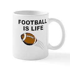 Football Is Life Mugs