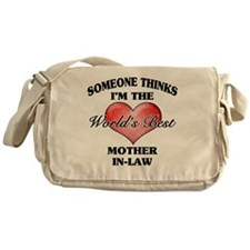 World's Best Mother-In-Law (Heart) Messenger Bag
