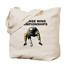 Defense Wins Championships Tote Bag